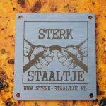 Metalen labels - metalen label