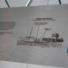 Sign Award - RVS graveren - RVS lasergraveren - Castellum hoge woerd - Romeins schip de Meern 1