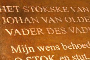 Herdenkingsbord Plaquette Gebruineerd messing Freesgraveren Stokske van Ordenbarneveld 201508 1600x1066 1