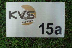 Huisnummer - RVS