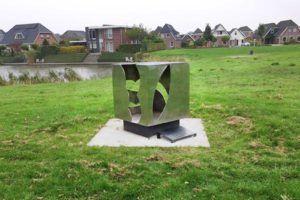 Gedenkplaat: Een gedenkplaat maken bij een kunstwerk, Dick Westera