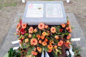 Oorlogsmonument ter herinnering aan gesneuvelde soldaten bij de bevrijding van St Joost