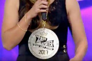 De Zappsport award van Lieke Martens