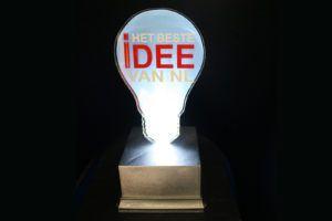 plexiglas awards- Het Beste Idee van Nederland