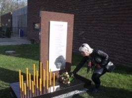 oorlogsmonument - 75 jaar bevrijding