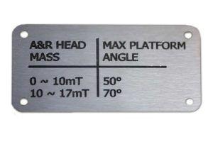 Machineplaatjes - graveerbedrijf