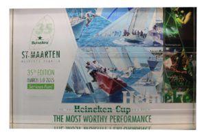 plexiglas awards - HeinekenRegatte
