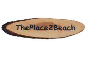 houtgraveren - bedrijfsnaambord - theplace2beach