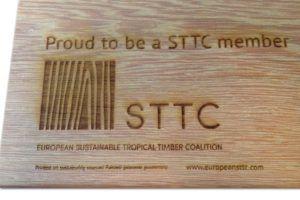 hard hout laser graveren STTC member