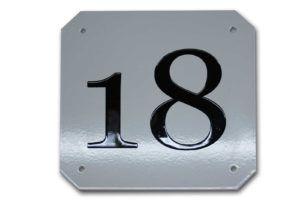 Huisnummer- Aluminium