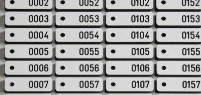 Kunststof labels