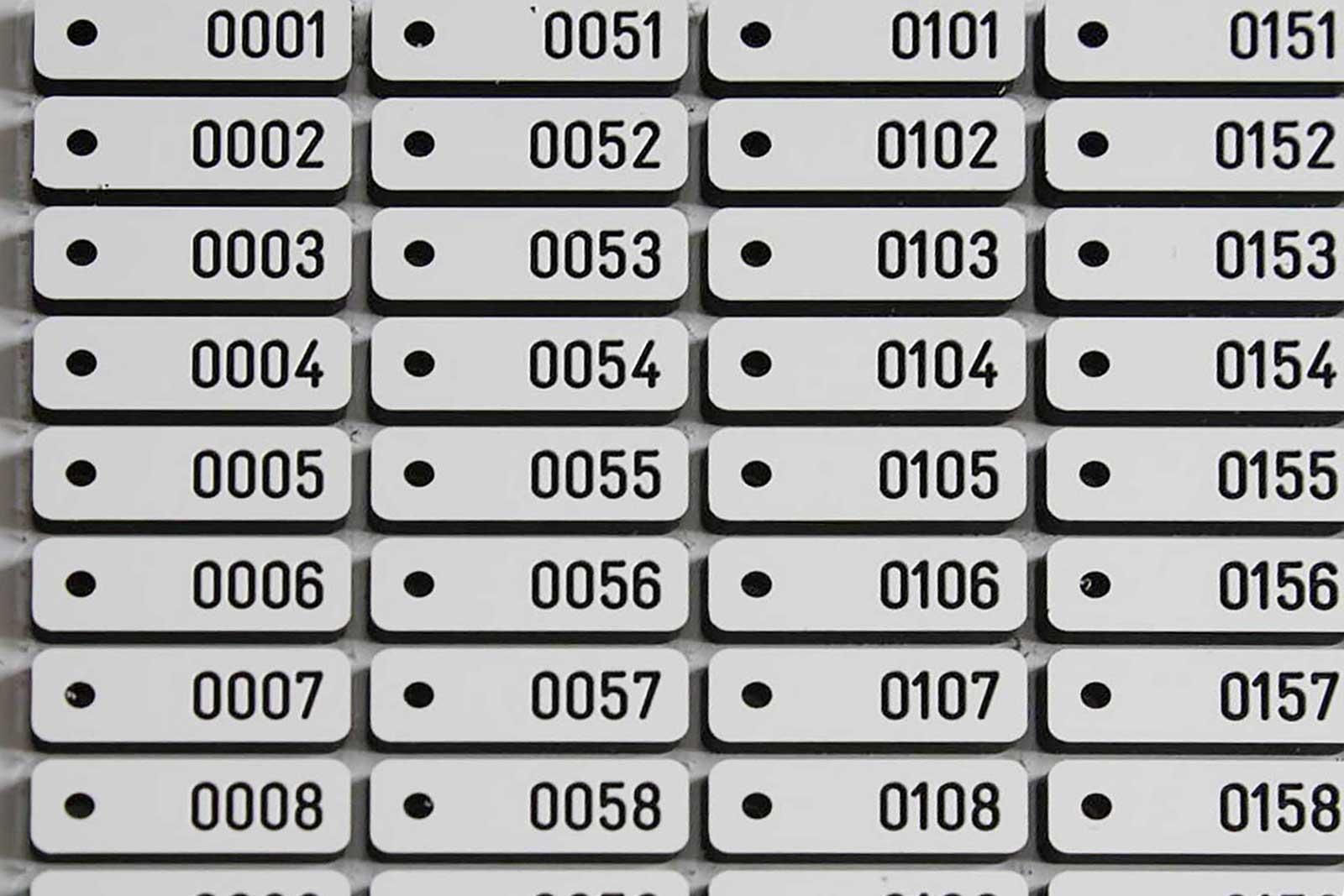 Kabel labels - graveren