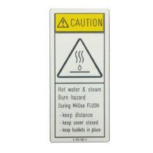 Graveren Utrecht - waarschuwingsbord