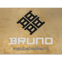 Messing gebruineerd frezen bedrijfsnaambord Bruno Meubelmakerij 1600x1066 BJ 220x220 2