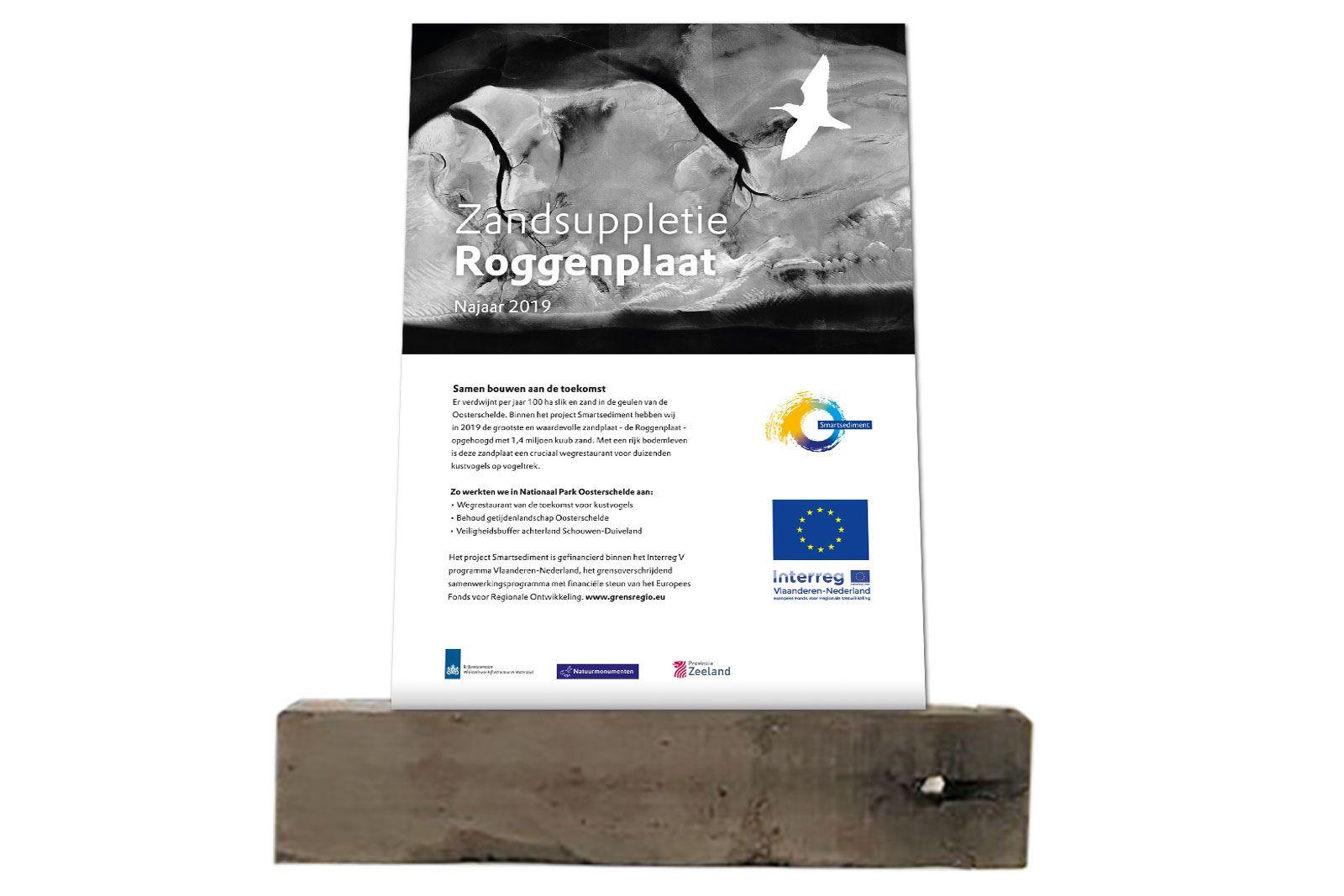 PLaquette Aluminium onderdruk onthulling door minister Roggeplaat vrijstaand 1600x1066 BJ 1