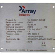 typeplaa RVS Lasergraveren Inlakken logo Array industries 201505 1600x1066 BJ 220x220 1