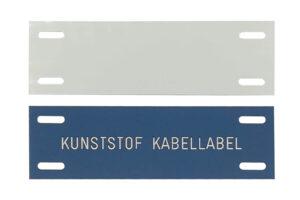 Kabel label - kunststof