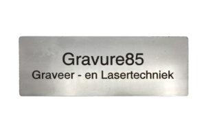 merklabel - rvs - laser