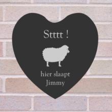 hart slaapt Jimmy
