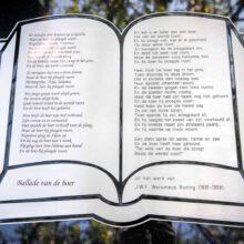 grafmonument - RVS - gedicht